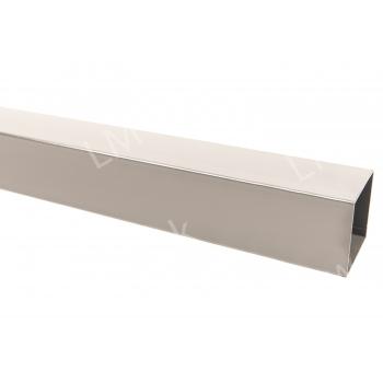 Vierkante paal 50/50/2,00mm x L. 300cm - LM Hekwerk bvba