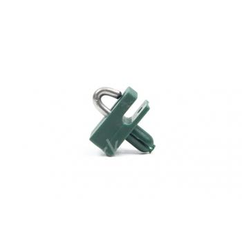 Spandraadhouder PA met inox nagel diam. 8mm