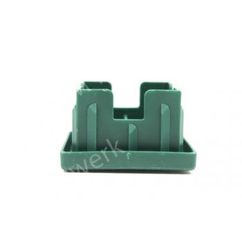 Insteekdop PVC 60/60mm met kapje