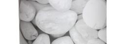 Vlechtband 190mm met soft print Carrara voor staalmatten (35m) - LM Hekwerk bvba