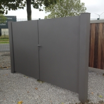 Aluminium draaipoort  Coolfront - Lm Hekwerk bvba