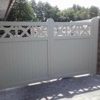 Aluminium draaipoort  Cottage - Lm Hekwerk bvba