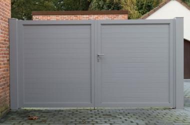 Aluminium poorten - LM Hekwerk bvba