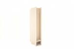 Betonplaathouder PVC diam. 60mm x 280mm met voetje (GRIJS)