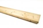 Houten schermplank Br. 140mm x L. 180cm