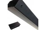 Steenkorfpaal 120/60mm met inserts - LM Hekwerk bvba